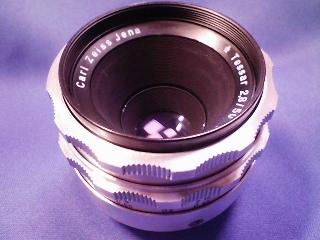 カメラ・レンズ・用品/カールツァイスイエナ テッサー50mmF2.8