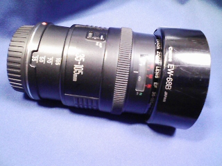 カメラ・レンズ・用品/キヤノンEOS用 EF35ー105mm 最も初期の標準ズームレンズ