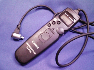 カメラ・レンズ・用品関連/キャノン タイマーリモコン TC−80N3