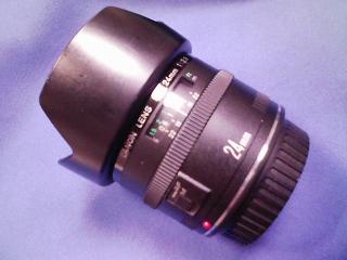 カメラ・レンズ・用品関連 / キャノン 広角レンズ EF24mmF2.8