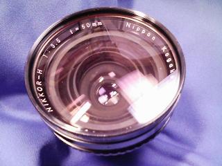 カメラ・レンズ・用品関連 ブロニカEC用広角レンズ 焦点距離50mm F3.5