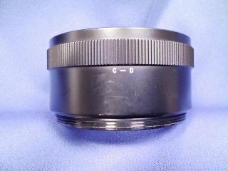 カメラ・レンズ・用品関連 ゼンザブロニカ ブロニカ用接写リングセット
