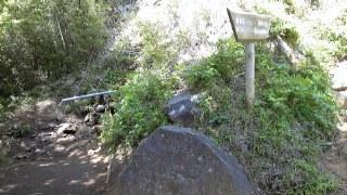 箱根の山、道了尊ー明神ヶ岳ー明星ヶ岳ー塔の峰ー塔之沢、最初の水場