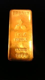金の延板(地金)の大きさなど