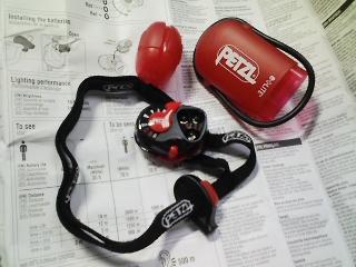 登山用品 ヘッドランプを選ぶ ペルツ(PETZL) イーライト
