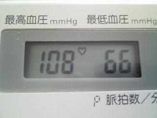 何となくクラクラ、血圧が低いみたい