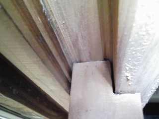 家の修理 鴨居が下がりふすま、障子が重い
