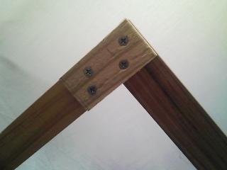 家の修理 木製窓用網戸の修理(木枠の自作)