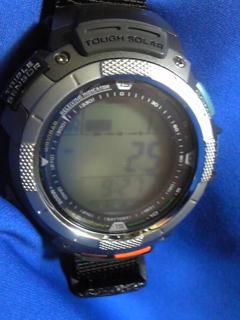 7月17日午前9半時ころの気圧と相対高度