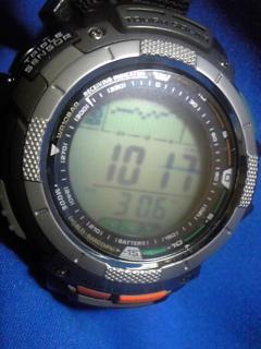 7月18日午後12時前の気圧と相対高度