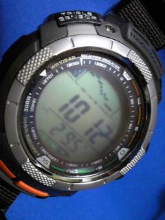 7月19日午前9時ころの気圧と相対高度