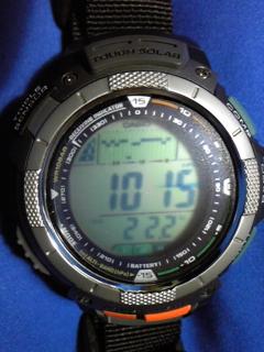 7月22日午前9時半ころの気圧と相対高度