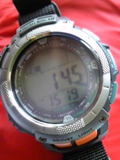 7月31日午後3時過ぎの気圧と相対高度