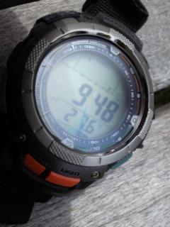 8月2日午後1時ころの気圧と相対高度