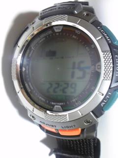 8月11日午後10時半の気圧と相対高度