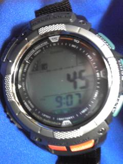 8月13日午前9時ころの気圧と相対高度