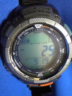 8月17日午前9時過ぎの気圧と相対高度