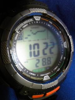 9月15日午前9時半の気圧と相対高度