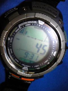 9月17日午前9時半の気圧と相対高度