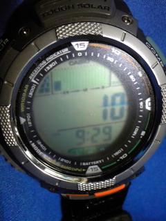 9月19日午前9時半の気圧と相対高度