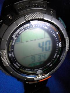 9月23日午前9時半の気圧と相対高度
