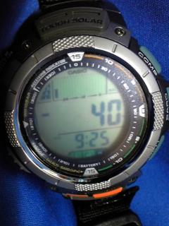 9月27日午前9時半の気圧と相対高度