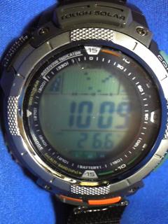 10月1日午前9時の気圧と相対高度