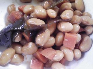 本日のお昼ご飯のおかずの写真 カラフトシシャモ、イワシ出汁の味噌汁など