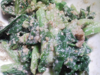 本日の晩ご飯のおかずの写真 千葉産ゴマ鯖の塩焼き、ひよこ豆のスープ、くらかけ豆のひたし豆など