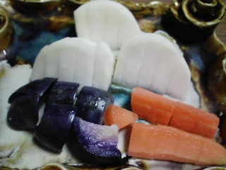 本日の晩ご飯のおかずの写真 石川県産真イワシの刺身となめろうなど
