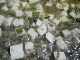 本日の晩ご飯のおかずの写真 北海道産ホッケの開き、マーボ豆腐など
