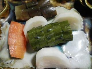 本日の晩ご飯のおかずの写真 愛媛産ホウボウの塩焼き、ホウボウのアラ鍋など