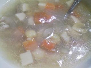 本日の晩ご飯のおかずの写真 宮城産サンマの塩焼き、ひよこ豆のスープなど