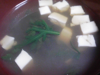 本日の晩ご飯のおかずの写真 神奈川の三浦産片口イワシの柳川、甘エビ出汁の吸い物など
