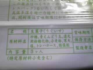 金沢の中田屋さんのきんつば うぐいす