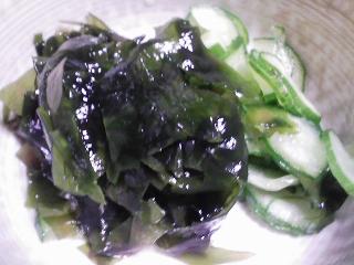 本日の晩ご飯のおかずの写真 高知産カツオの刺身、ヌタなど
