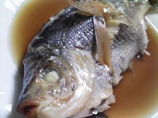 本日の晩ご飯のおかずの写真 神奈川の横須賀産海タナゴの煮付け、タナゴの子の出汁の吸い物など