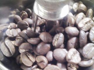 サイフォンでコーヒーをいれる 豆はカルディのキリマンジャロ
