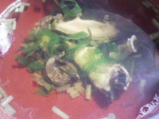 本日の晩ご飯のおかずの写真 神奈川の三浦産花鯛の鯛飯、アワビの吸い物など