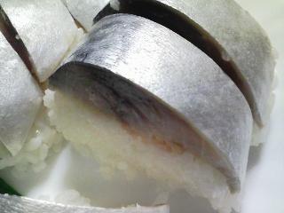 本日の晩ご飯の写真 青森の八戸のシメサバでシメサバ寿司、岩手産天然ブリの頭でブリ大根など
