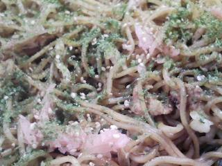 本日のお昼ご飯の写真 山形の山口製麺さんのやきそば