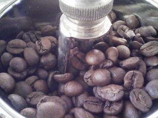 サイフォンでコーヒーをいれる 豆はカルディのブラジル