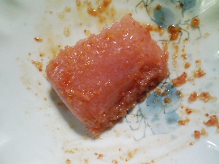 本日の朝ご飯のおかずの写真 イワシレモンスープ、カマス出汁の味噌汁など