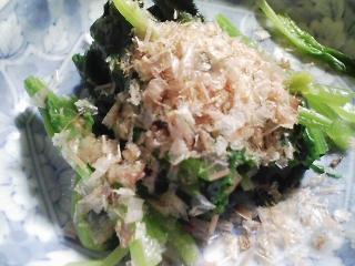 本日の晩ご飯のおかずの写真 奄美大島産本マグロのカマ肉の照り焼き、魚出汁のスープなど