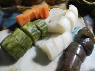 本日の晩ご飯のおかずの写真 静岡産ウルメイワシのなめろう、刺身、野菜炒めなど