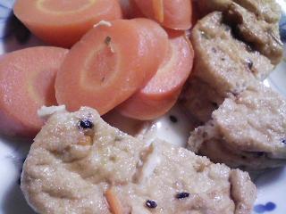 本日の朝ご飯のおかずの写真 静岡産ウルメイワシの塩焼き、イワシ出汁の味噌汁など