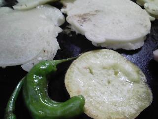 本日のお昼ご飯の写真 北海道木田製粉さんの薄力粉きたほなみでお好み焼き