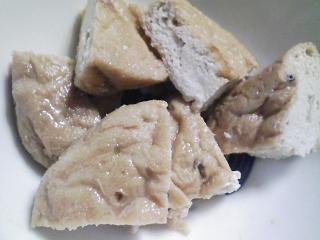 本日の朝ご飯のおかずの写真 鳥取産アジの開き、カマス出汁の味噌汁など