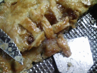 おやつ 青森産リンゴ 紅玉で自家製アップルパイ 焼きたての偽装なし