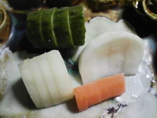本日の晩ご飯のおかずの写真 長崎産アジの開き、味噌田楽など